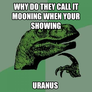 why do they call it mooning when your showing